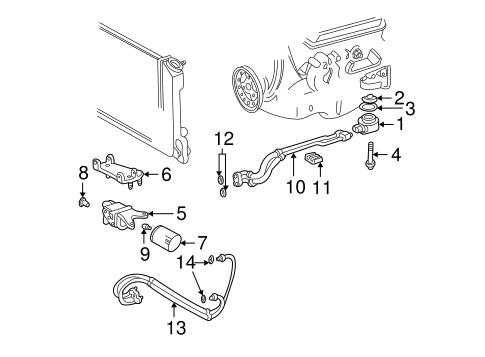 4 3 engine oil cooler diagram oil cooler parts for 2001 chevrolet s10 engine oil cooler diagram #3