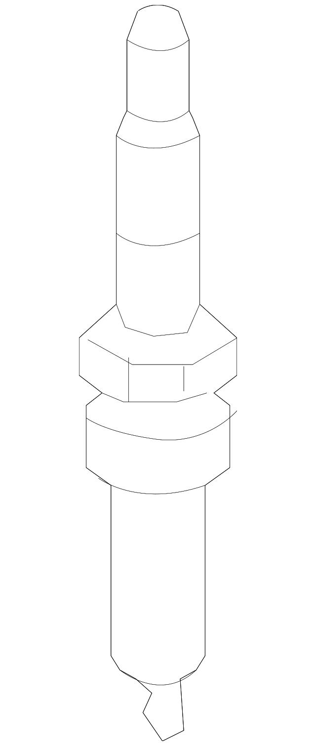 2013-2016 Dodge Dart Spark Plug SP079888AC