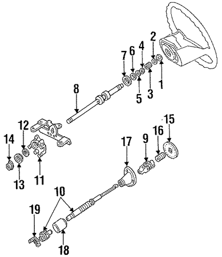 shaft  u0026 internal components for 1997 ford f