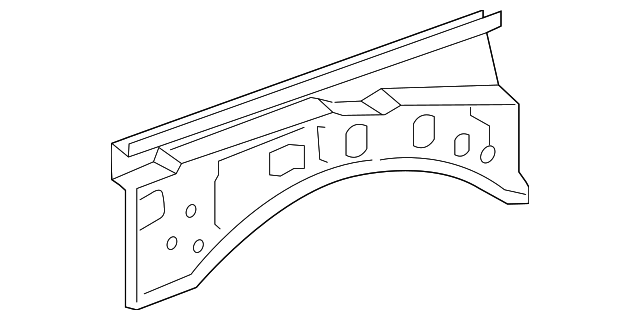 Upper Rail - Toyota (53706-04030)