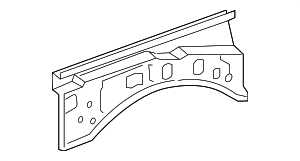 Upper Rail - Toyota (53705-04901)