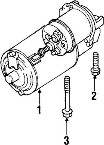 starter for 1998 buick lesabre