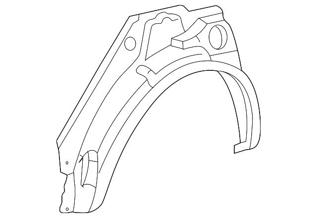 Outer Wheelhouse - Toyota (61632-02030)