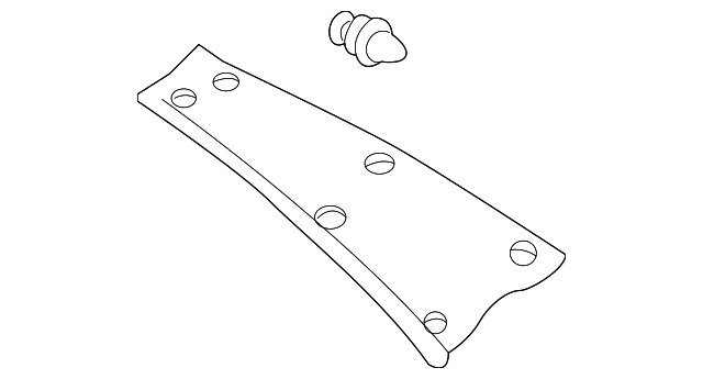 Upper Quarter Trim - Toyota (62470-02010-B0)