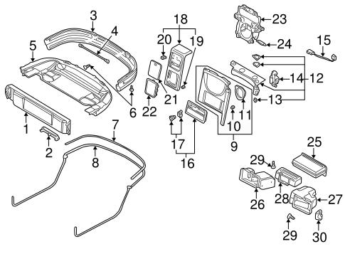 Chrysler wiring harness strap clips