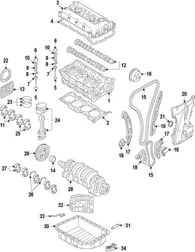 Oil pan for 2015 jeep patriot parts wermopar for Jeep patriot motor oil