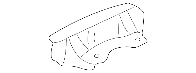 Lower Rail Gusset - Toyota (53717-48020)