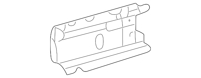 Rear Reinforced - Toyota (57486-0E011)