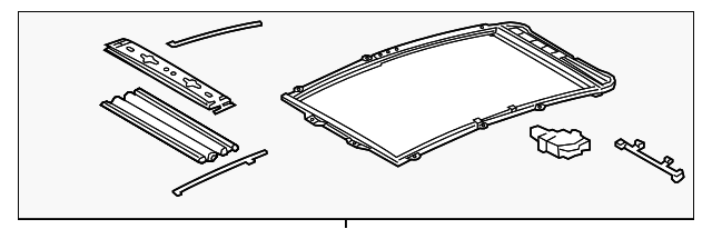 Sunroof Assembly - Toyota (63250-47050-B0)