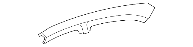 Outer Rail - Toyota (61214-06030)