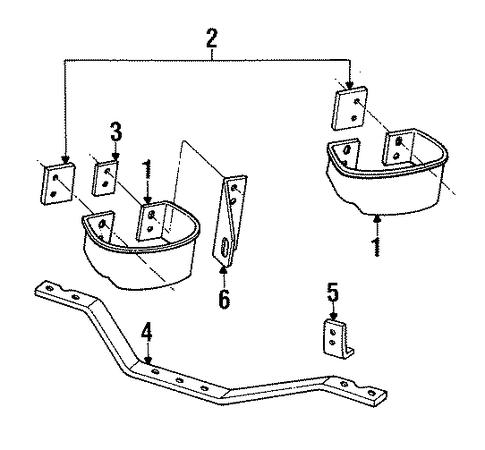 Bumper Assembly Rear Scat