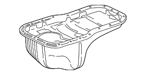 Oil Pan - Toyota (12101-74150)