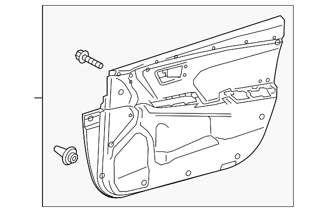 Door Trim Panel - Toyota (67620-06K00-C4)