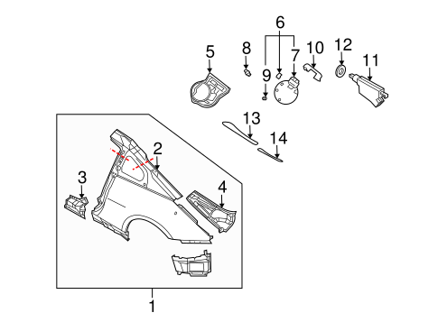 Rear Suspension Scat as well Steering Column Scat as well Wiper And Washer  ponents Scat together with Transmission Sensor Identification T407832 also Nissan Valve Cover 13264am600. on nissan 350z floor mats