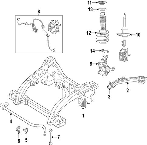 Strut-Front Suspension