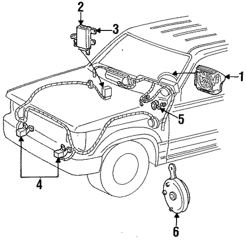 T2149267 Need air brake diagram ford l7000 in addition T18417553 Instructions remove center console also Toyota Previa Fuse Box Diagram furthermore 2000 Gmc Wiring Schematics moreover 99 Plymouth Breeze Engine Diagram. on 1997 ford ranger interior