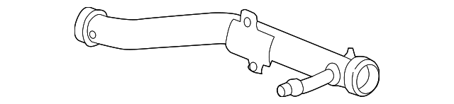 OEM Honda 19505-5K0-A00 - Pipe Assembly, Connecting