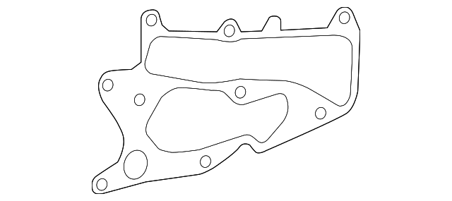 2014 Honda ACCORD PLUG-IN HYBRID (PLUG-IN) GASKET, WATER OUTLET - (193165K0A01)