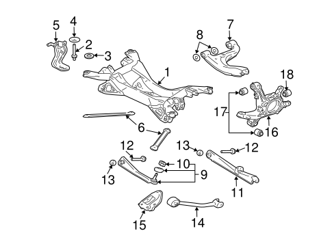 2006 Subaru Rear Suspension Diagram on subaru outback wiring harness problems