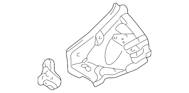 Front Section - Toyota (53701-20936)