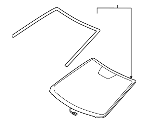 Windshield - Toyota (56101-06371)