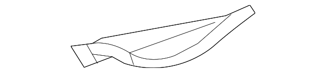 Inner Wheelhouse Extension - Toyota (61628-AE010)