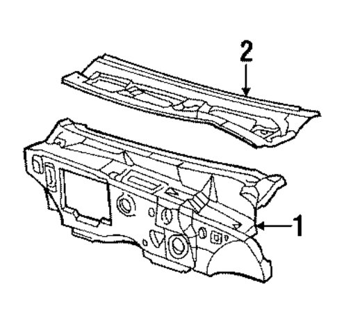 cowl for 1989 buick lesabre