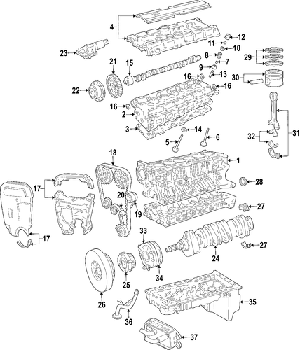 Engine For 2003 Volvo Xc90