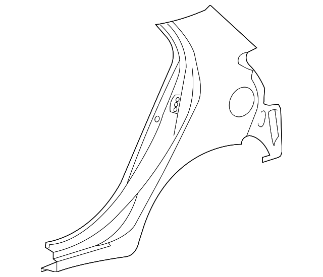 Quarter Panel - Toyota (61602-52620)