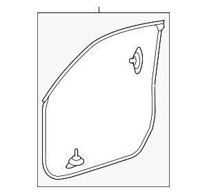 Door Weather-strip - Honda (72350-TP6-A01)