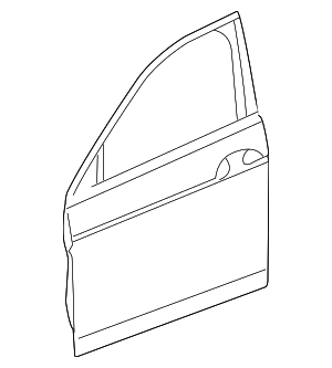 Door Shell - Honda (67050-TP6-A90ZZ)