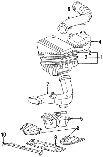 ENGINE/ENGINE PARTS for 1996 Toyota Camry #2