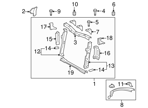 Air Deflector - Toyota (53293-12070)