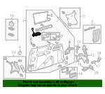 Cup Holder - Toyota (64745-08010-B1)