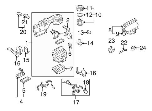 Engine Parts Diagram 2000 Subaru 2 5
