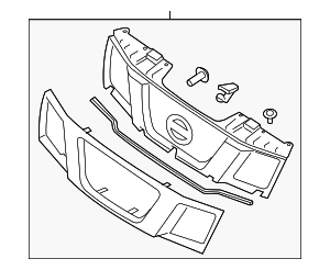 GRILLE ASSY