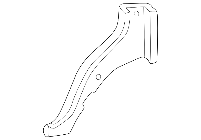 Lower Trim - Toyota (62552-35010-B1)