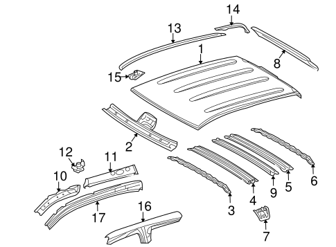 Mount Bracket - Toyota (63525-0C020)