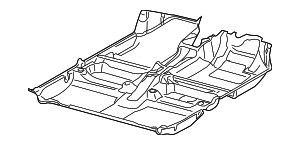 Carpet - Toyota (58510-52C72-B0)
