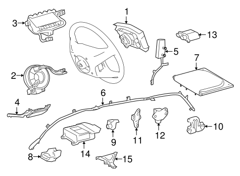 ELECTRICAL/AIR BAG COMPONENTS for 2016 Toyota Sienna #1