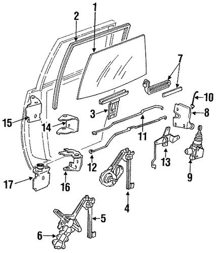 1996 Oldsmobile Ciera Suspension