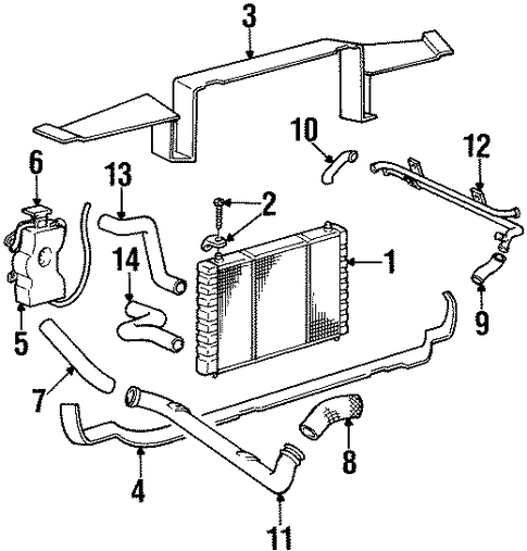 radiator  u0026 components for 2000 dodge viper