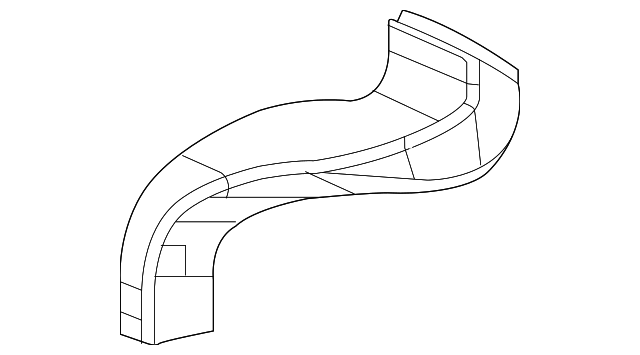 OEM Honda 83332-TR0-A00 - Center Duct