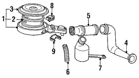 oem filters for 1993 chevrolet lumina apv