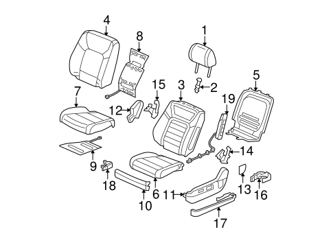 Seat Cushion Heater - Honda (81534-SZA-A11)