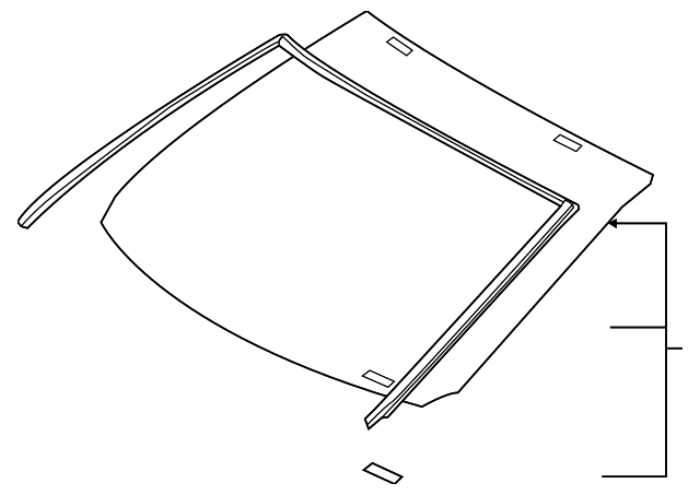 Windshield - Toyota (56101-0R100)
