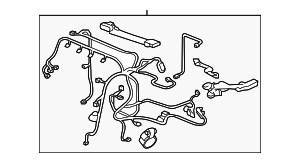 OEM Honda 32110-RW0-A00 - Engine Harness