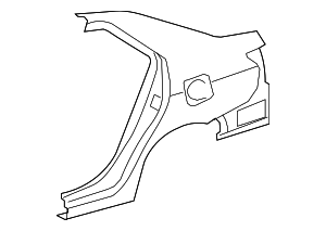 Quarter Panel - Toyota (61601-52350)