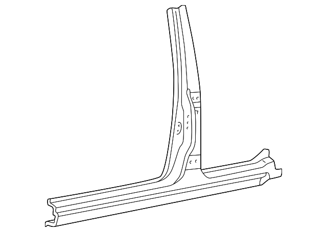 Center Pillar - Toyota (61411-35061)