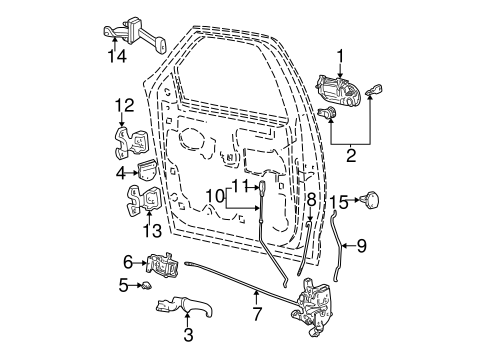 ford f 150 tailgate hinge diagram with Tailgate Scat on Audi Wiring Diagram Symbols together with 111778538536 further 01 Chevy S10 Door Handle Diagram together with Tailgate Scat further 24706140.